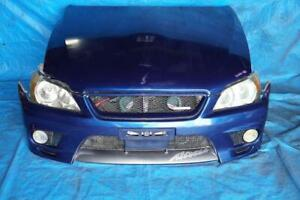 JDM Lexus is300 / Altezza TRD FRP Front Bumper Fog Lights Hood Fenders HiD Headlights Mesh Grille Front End 2001-2005