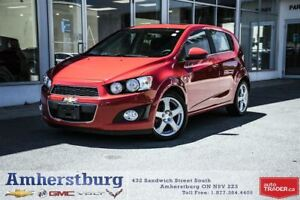 2015 Chevrolet Sonic LT - SUNROOF, BACKUP CAM, HEATED SEATS!