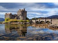 VISITING SCOTLAND AND MANY MORE PLACES WITHIN UK!!!... PRIVATE CAR WITH DRIVER