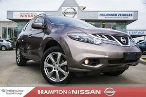 2012 Nissan Murano Platinum *Leather|Heated seats|Rear view moni