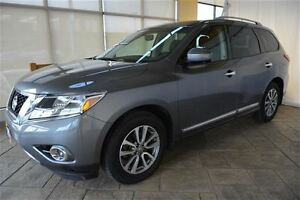 2015 Nissan Pathfinder SL AWD WITH LEATHER & MOONROOF Oakville / Halton Region Toronto (GTA) image 2