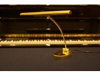 New piano lamp with LED bulbs