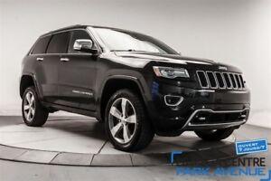 2014 Jeep Grand Cherokee Overland, AWD, NAV, CUIR, TOIT**RÉSERVÉ
