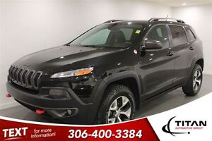 2014 Jeep Cherokee Trailhawk|4x4|htd Leather|Nav|Remote Starter
