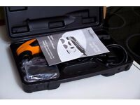 NEW! oscillating saw/sander/precision pipe and floor cutter/ multitool kit. (Unwanted Xmas Gift)
