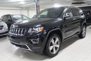 2016 Jeep Grand Cherokee LIMITED 4X4 *CUIR/TOIT/NAV/CAMERA RECUL