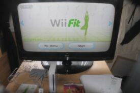 nintendo wii and wii fit games bundle