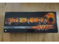 James Bond Widescreen Collection - 18 films on VHS video
