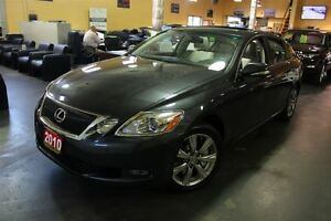 2010 Lexus GS 350 ULTRA PREMIUM AWD NAVI REAR CAM LEATHER SUNROO
