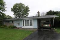 1 Month Free Britannia Heights 3 bed Bungalow w/large yard