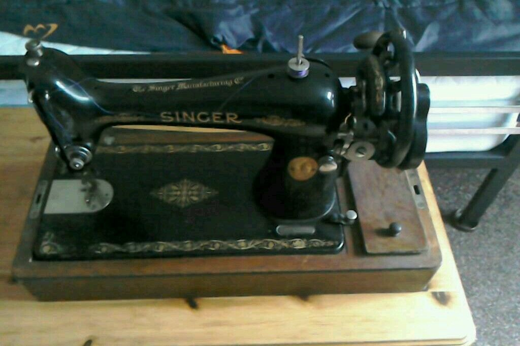 40 Singer Sewing Machine In West Cross Swansea Gumtree Amazing 1921 Singer Sewing Machine