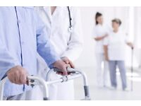 Healthcare Job Roles Available £8.00-16.00/hour –Training Provided
