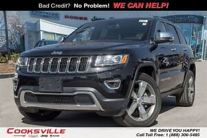 2016 Jeep Grand Cherokee Limited, LEATHER, ROOF, AWD
