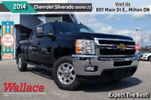 2014 Chevrolet SILVERADO 2500HD LTZ/6.6L DIESEL/TRAILER PKG/CLEA