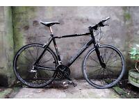 CLAUD BUTLER LEVANTE, 22 inch, hybrid road bike, aluminun frame, 24 speed