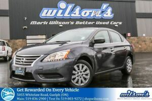 2013 Nissan Sentra S POWER PACKAGE! AIR CONDITIONING! CERTIFIED!