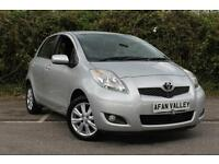 TOYOTA YARIS 1.4 D-4D T Spirit 5dr [6] **FULL SERVICE HISTORY++2 OWNERS** (silver) 2009