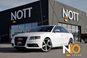 2011 Audi A4 2.0T Premium AWD S Line*Sunroof*Heated Leather*