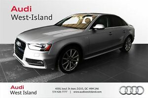 2015 Audi A4 2.0T PROGRESSIV NAVIGATION / HOME LINK