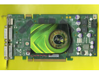 NVIDIA GeForce 7900GS DDR3 PCIe Graphics Card 2xDVI-I (dual link) 29 pin combined DVI 1xHDTV out