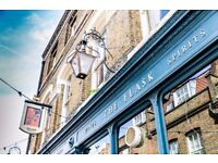 Chef de partie at iconic Hampstead gastro pub, located in the heart of Hampstead village.