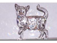 RETIRED SWAROVSKI Crystal - Mum Cat & Kitten
