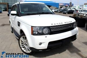 2012 Land Rover Range Rover Sport HSE-LEATHER,NAV,SUNROOF,HEATED