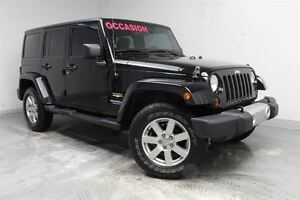 2012 Jeep WRANGLER UNLIMITED SAHARA+UNLIMITED