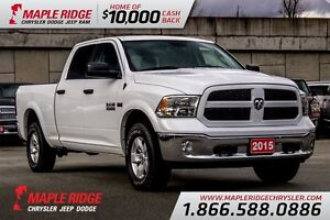 2015 Ram 1500 SLT w/ Bluetooth & Tow Package