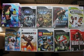 Assorted Wii games for sale - all £2 each