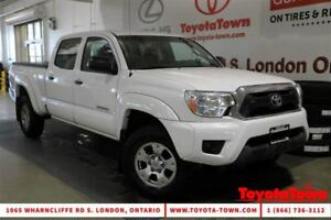 2014 Toyota Tacoma SINGLE OWNER 4x4 DOUBLE CAB V6 SR5 POWER PACK
