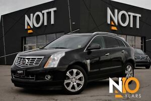 2014 Cadillac SRX Premium 3.6L Nav, Pano Roof, Heated/Cooled Lea