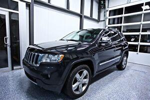 2012 Jeep Grand Cherokee LIMITED INTÉRIEUR EN CUIR