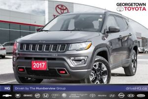 2017 Jeep Compass TRAILHAWK,AIR CONDITIONING,REARVIEW CAMERA,NAV