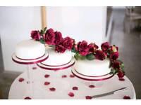 Beautiful Wedding Cake Stand 3 tier
