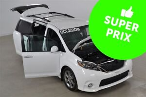 2015 Toyota Sienna SE V6 8 Passagers Cuir+Toit Ouvrant+Camera Re