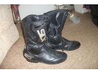 Ladies SIDI motorbike boots