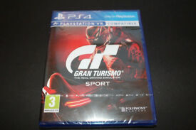 Gran Turismo Sport (Sony PlayStation 4, 2017) Brand New