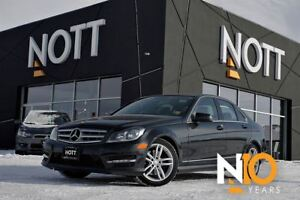 2013 Mercedes-Benz C-Class C300 4Matic AWD*1 Owner*Sport Pkg*Moo