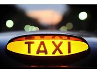 Tx1 taxi with public hire licence plate.