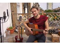 *Guitar lessons with friendly, relaxed, patient and successful tutor - learn guitar in no time*