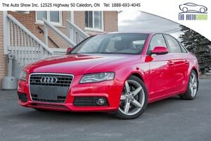 2010 Audi A4 6 SPEED! DRIVE MODE SELECT!