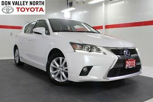 2015 Lexus CT 200h Base Btooth Heated Lthr Pwr Seats Wndws Mirrs