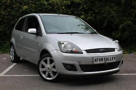 FORD FIESTA 1.25 Zetec 3dr [Climate] **NEW MOT INCLUDED IN PRICE** (silver) 2008