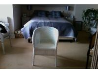 Lloyd loom chair (white)
