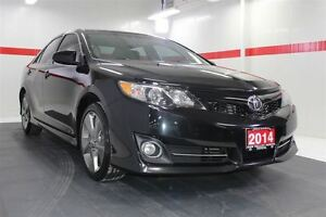 2014 Toyota Camry SE Heated Lthr Nav Sunroof Btooth BU Camera Cr