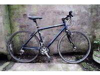 SPECIALIZED SIRRUS COMP, 54 cm Medium size, hybrid road city bike, 27 speed, Carbon fork