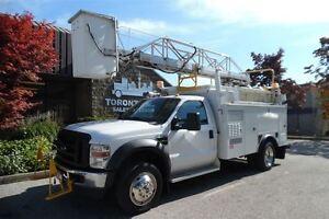 2008 Ford F-550 Ladder/bucket,Service body,Diesel.