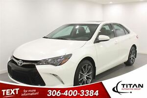 2015 Toyota Camry XSE|Nav|Sunroof|Push Start| Heated Leather|V6