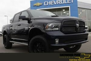 2013 Ram 1500 Sport| Sunroof| Nav| Cust BDS Lift/Rims/Tires|